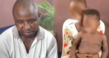 49 YRS OLD MAN RAPES 7 YRS OLD DAUGTHER, 15 MONTHS OLD GRAND DAUGHTER