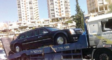 OBAMA'S $1.5M LIMO BREAKS DOWN IN ISRAEL AFTER DRIVER PUTS PETROL IN ENGINE INSTEAD OF DIESEL