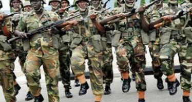 SOLDIERS BEAT POLICEMEN IN IBADAN