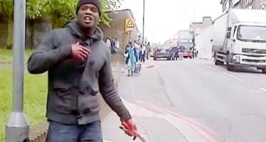 NIGERIAN SLAUGHTERS BRITISH SOLDIER IN TERRORIST ATTACK