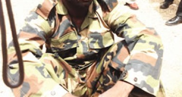 FAKE SOLDIER NABBED IN PLATEAU