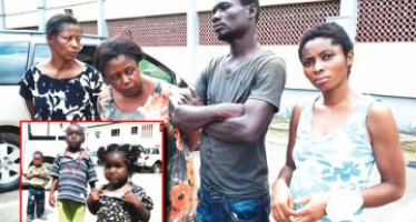 COUPLE SELL THEIR UNBORN BABY FOR N200, 000, SELL NEIGHBOUR'S 4 YRS OLD SON FOR N400, 000