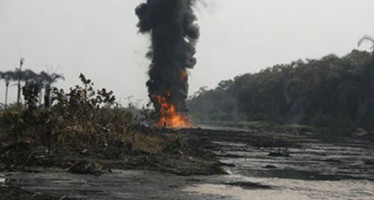 NNPC PIPELINE CATCHES FIRE AT ILADO