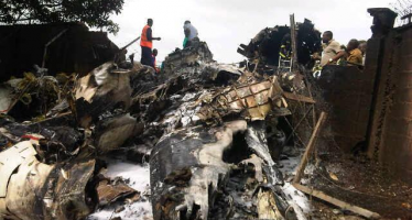 AGAGU'S SON SURVIVES PLANE CRASH, POPULAR UNDERTAKER TUNJI OKUSANYA, SON DIE