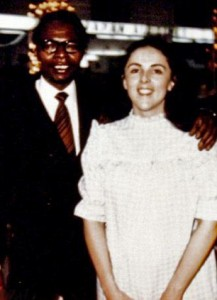 Barack Obama's father and mother