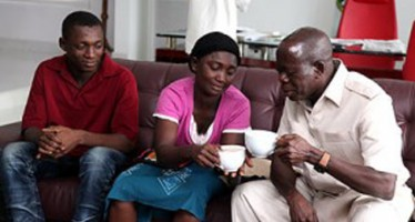 OSHIOMHOLE EATS BREAKFAST WITH 'GO AND DIE WIDOW', SPLASHES N2M ON HER, GIVES SON SCHOLARSHIP