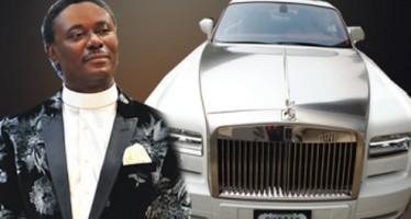 PASTOR CHRIS OKOTIE BUYS N120M ROLLS ROYCE TO MARK PASTORAL ANNIVERSARY