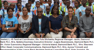 DIAMOND BANK PARTNERS LAGOS BLACK HERITAGE FESTIVAL