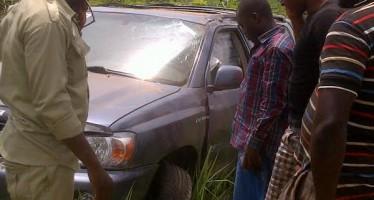 CHIEF EZE CHUKWUEMEKA EZE ESCAPES DEATH IN AUTO CRASH