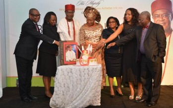 Pix of Obi of Onitsha, Igwe Nnaemeka Achebe recently marked birthday and Book Launch