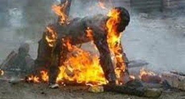 WIFE KILLED ESTRANGED HUSBAND BY DOUSING HIM WITH PETROL AND SETTING HIM ABLAZE BECAUSE HE WANTED DIVORCE