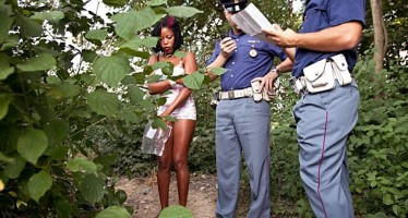 HARSH LIVING CONDITIONS OF NIGERIAN GIRLS WORKING AS PROSTITUTE IN ITALY PHOTOGRAPHED