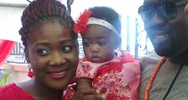 PREGNANT MERCY JOHNSON TRAVELS TO US FOR CHILDBIRTH