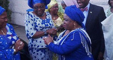 EBOLA: FASHOLA ADVISES NIGERIANS TO STOP HANDSHAKE AS PATIENCE JONATHAN ADOPTS NEW GREETING STYLE