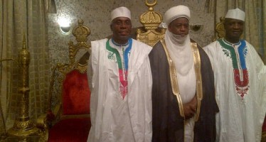PIX OF GOV. ROTIMI AMAECHI'S COURTESY VISIT TO SULTAN OF SOKOTO