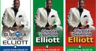 DESMOND ELLIOT  DECLARES AMBITION TO CONTEST FOR LAGOS HOUSE OF ASSEMBLY