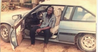 SEE REUBEN ABATI IN HIS WEATHER-BEATEN CAR BACK IN THE DAYS