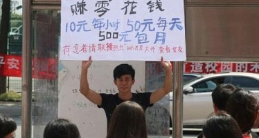 Chinese man offers to 'rent' girlfriend to men to raise money to buy the new iPhone 6