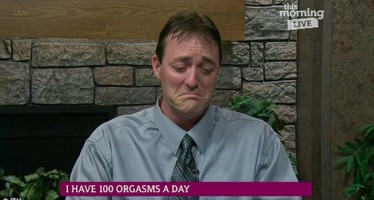 Man who has 100 orgasms a day breaks down as he describes the daily hell of his rare medical condition
