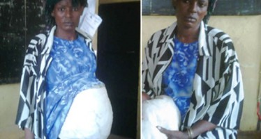 FAKE PREGNANT WOMAN ARRESTED
