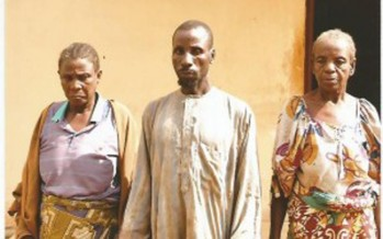 GRANDMOTHER APPEARS IN COURT FOR SLAUGHTERING GRANDSON & EATING HIS DEAD BODY WITH CULT MEMBERS