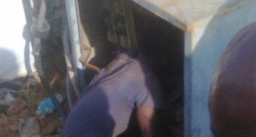 MAN ELECTROCUTED WHILE ATTEMPTING TO STEAL FROM TRANSFORMER