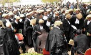 TWO LAWYERS ARRAIGNED FOR FORGING DEAD MAN'S WILL