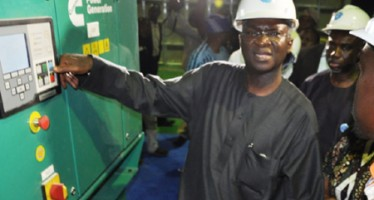 FASHOLA COMMISSIONS 8.8 MEGAWATTS MAINLAND INDEPENDENT POWER PROJECT