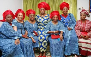 KING SUNNY ADE FLAUNTS HIS 7 WIVES