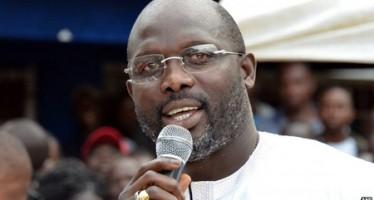 GEORGE WEAH WINS SENATORIAL ELECTION, BEATS LIBERIAN PRESIDENT'S SON