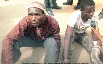 SON KILLS FATHER FOR BEING THIEF
