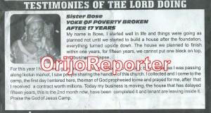 testimonies 3