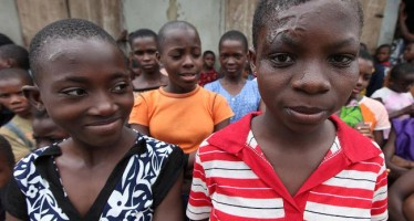 FACES OF CHILDREN ACCUSED OF WITCHCRAFT