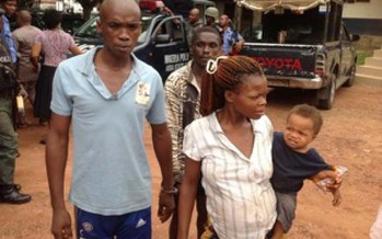 MAN ARRESTED FOR SELLING SON TO HERBALIST FOR N300, 000