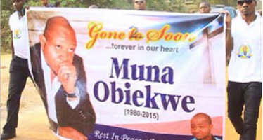 NOLLYWOOD ACTOR MUNA OBIEKWE LAID TO REST
