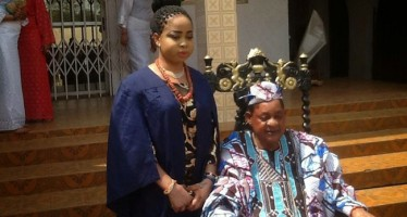 ALAAFIN OF OYO'S WIFE GAINS ADMISSION INTO UNIVERSITY AS HUSBAND AND OTHER WIVES CELEBRATE WITH HER