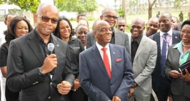 Bishop Oyedepo, Covenant University Laud Diamond Bank Plc