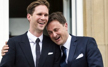 Prime Minister weds gay lover
