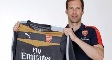 Petr Cech's first ever interview as an Arsenal player