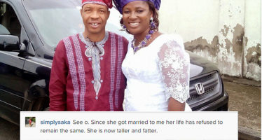 ACTOR SAKA SAYS WIFE'S LIFE CHANGED AFTER THEY MARRIED