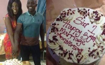 AGE CHEAT: AT 47, SIASIA CELEBRATES 30TH WEDDING ANNIVERSARY