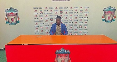 NIGERIAN WONDER-KID BOBBY ADEKANYE SIGNS FOR LIVERPOOL