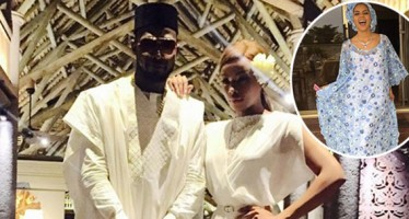D'BANJ AND EX-GIRLFRIEND ADAMA IDIMI REUNITE