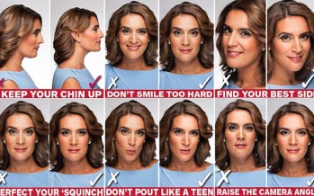 SKY NEWS NEWSCASTER SHARES TIPS FOR LOOKING AMAZING IN PICTURES