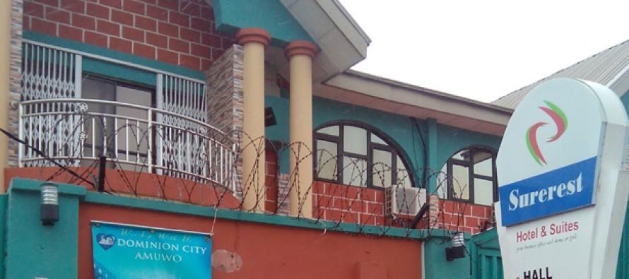 (PHOTOS) GHANAIAN GUESTS' LAPTOP, MONEY STOLEN AT SUREREST HOTEL IN FESTAC TOWN