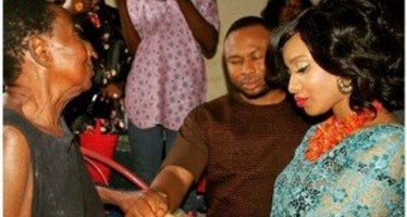 Pregnant Tonto Dikeh Releases Her Marriage Introduction Pictures
