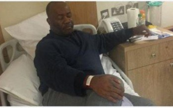 "GODSWILL AKPABIO SPEAKS FROM SICK BED, SAYS ""Though down but not out, I will rise again"""