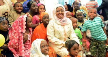 Aisha Buhari's Passion For Promoting Mother And Child Health