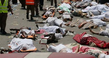EMIR KILLED WITH TWO WIVES IN SAUDI STAMPEDE