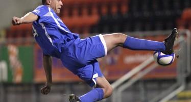 FOOTBALLER JAILED FOR BREAKING OPPONENT'S LEG